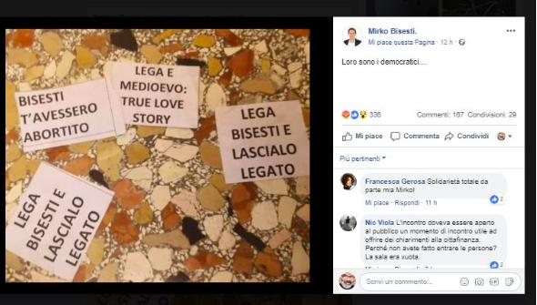 Trento, femministe e collettivi aggrediscono assessore della Lega