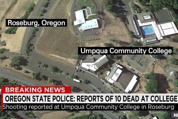 Il massacro all'Umpqua Community College