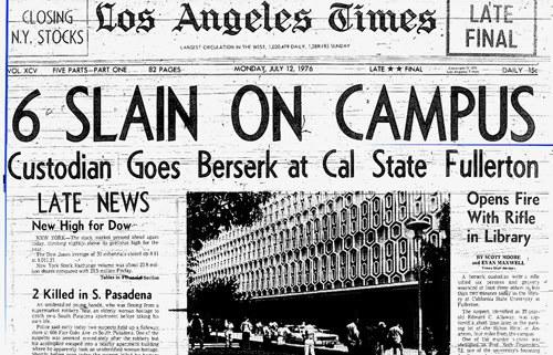 Sparatoria a scuola: il massacro alla California State University