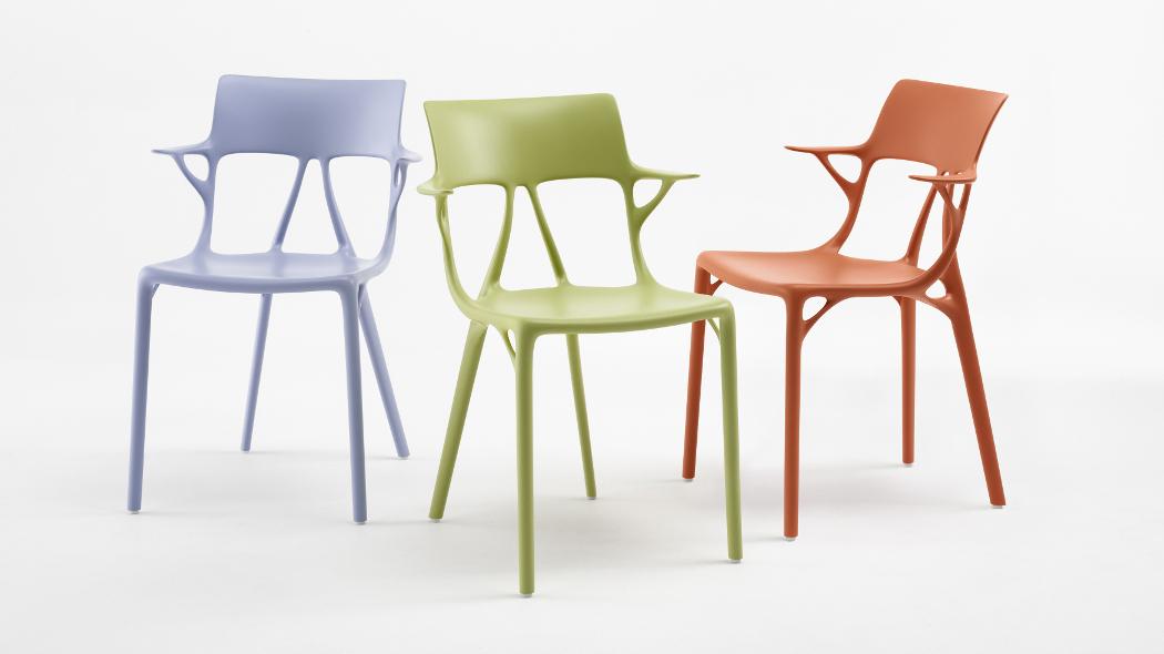 """Philippe Starck: """"ecco la prima sedia progettata dall'intelligenza artificiale"""""""