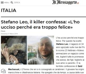 Fake news di Mentana: è nordafricano il killer di Torino