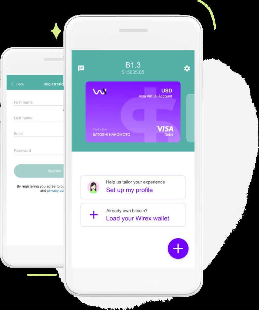 wirex app mobile criptovalute