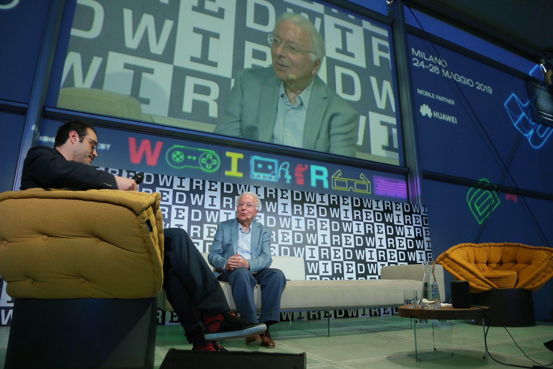"""L'inventore del microchip al Wnf: """"Sviluppiamo la coscienza per non diventare schiavi di chi fa le macchine"""""""