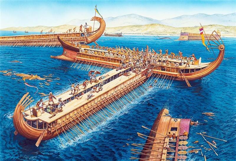 Dalla trireme greca alla galea romana