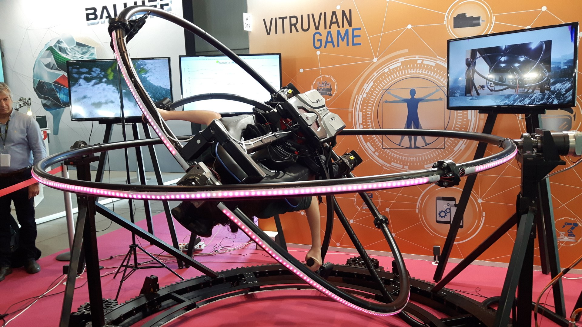 Il simulatore spaziale VR ispirato a Leonardo, da provare al Wired Next Fest