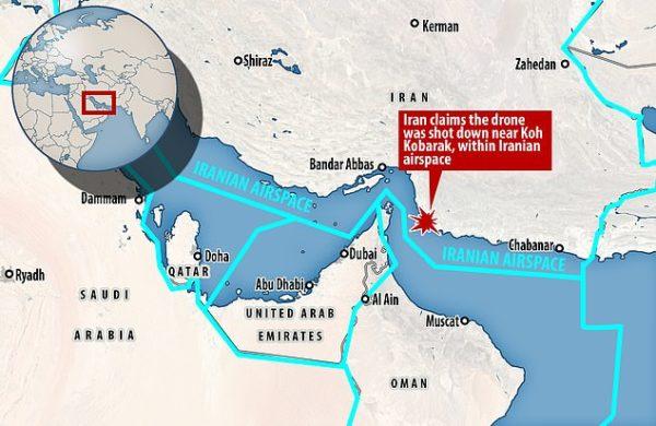 Grande tensione USA-Iran dopo l'abbattimento del drone