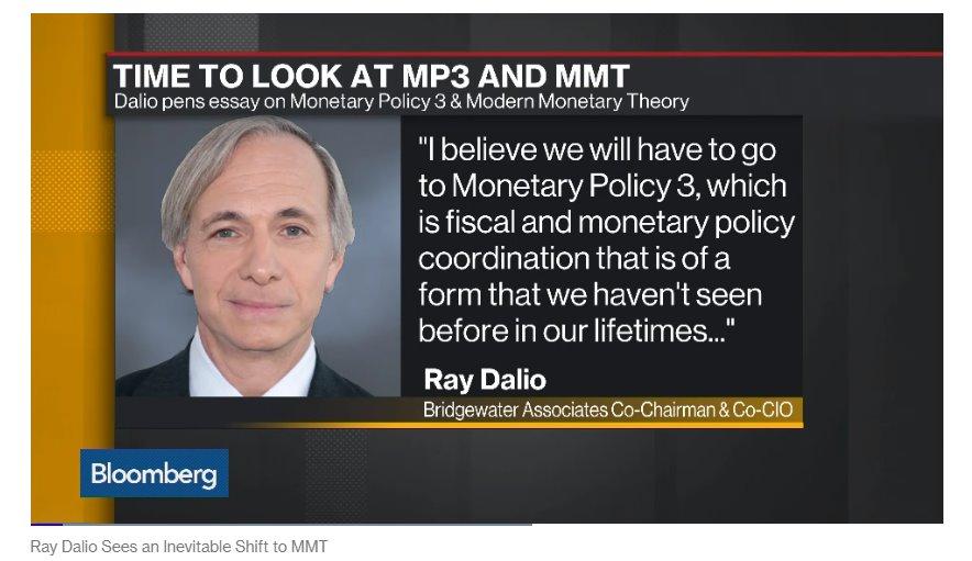 Dalio: è tempo di una nuova teoria della moneta
