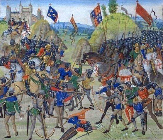 La battaglia di Azincourt