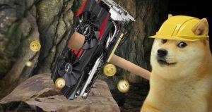 il mining nella criptovaluta dogecoin (DOGE)