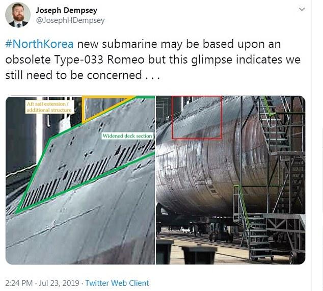 """Il """"nuovo"""" sottomarino nordcoreano è un modello sovietico degli anni '50"""