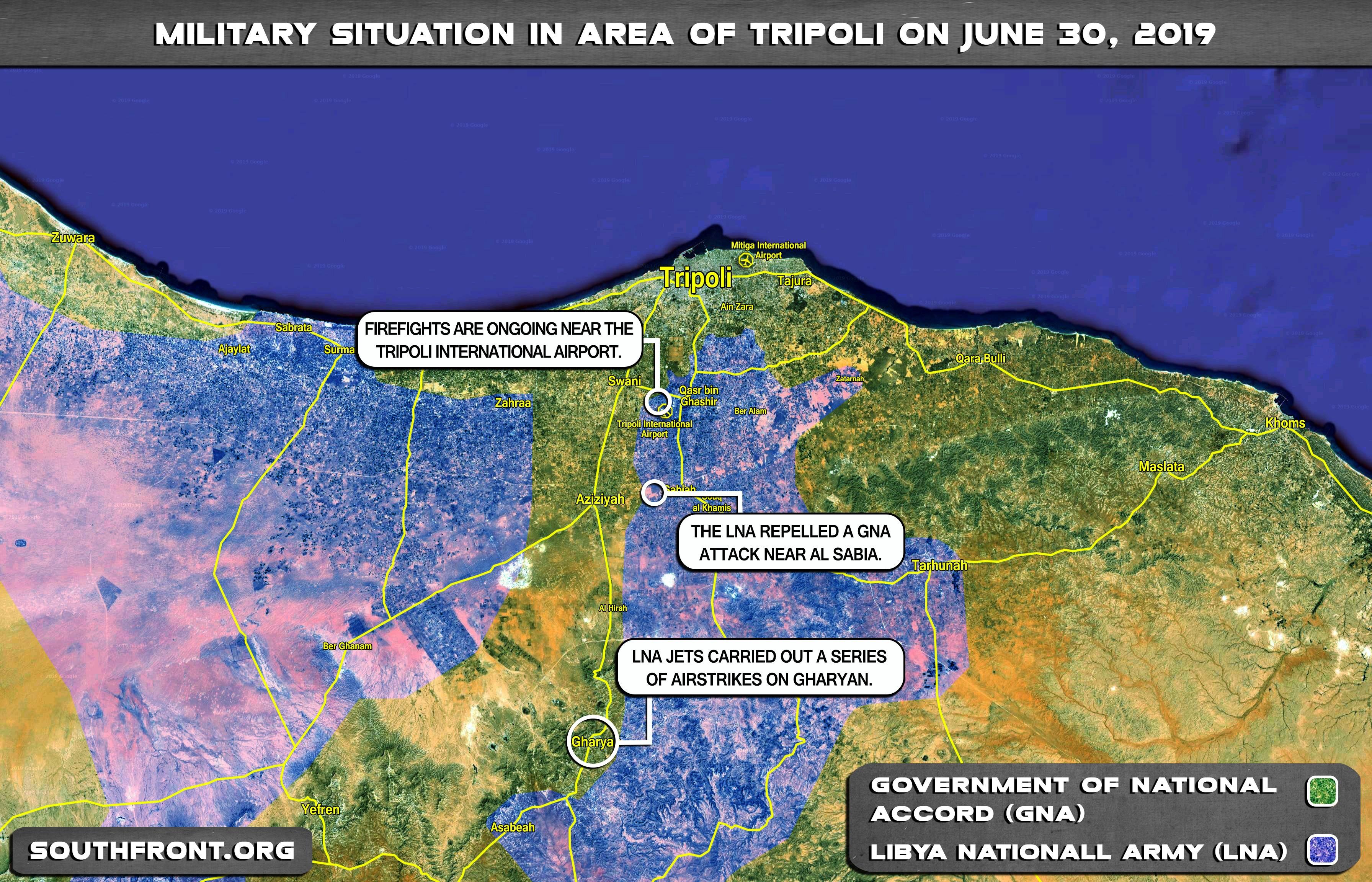 L'Esercito di Haftar in difficoltà contro le forze di Sarraj