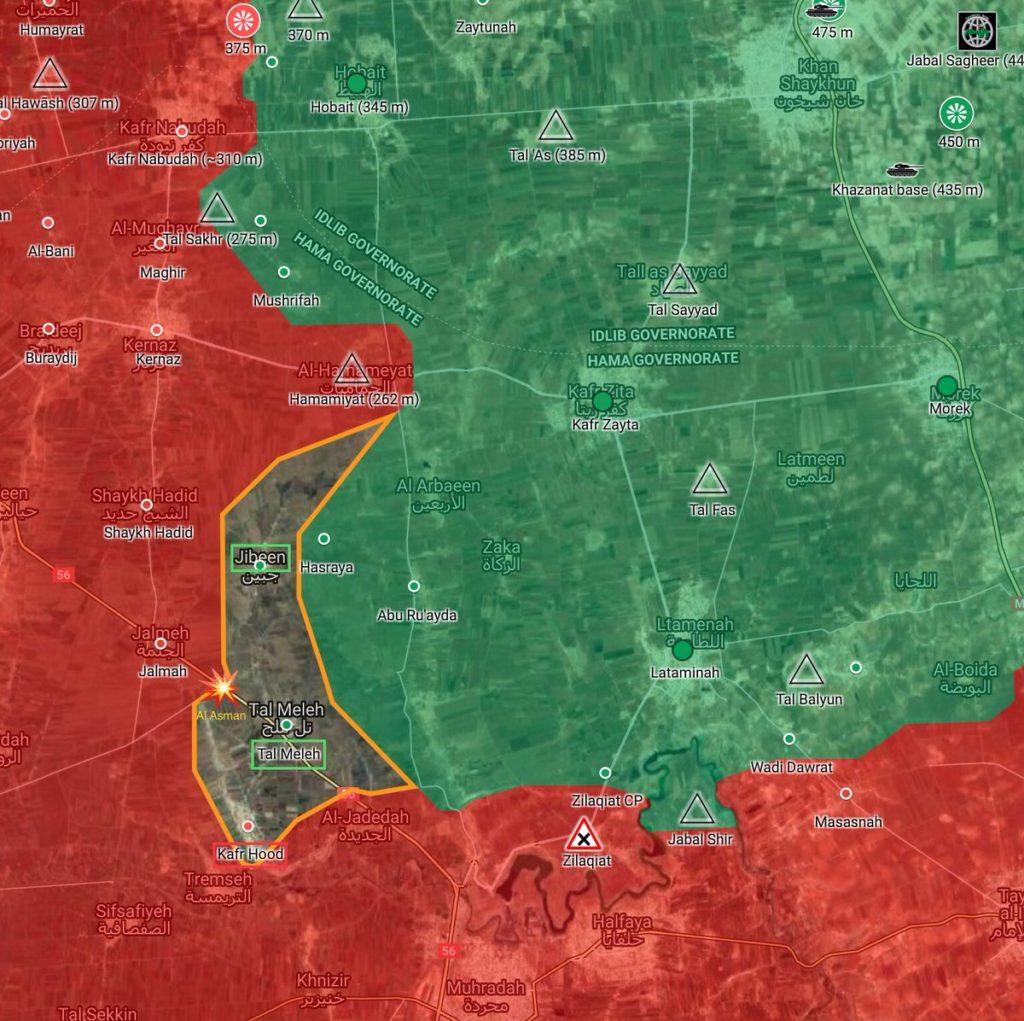L'esercito siriano riconquista due importanti villaggi a sud di Idlib
