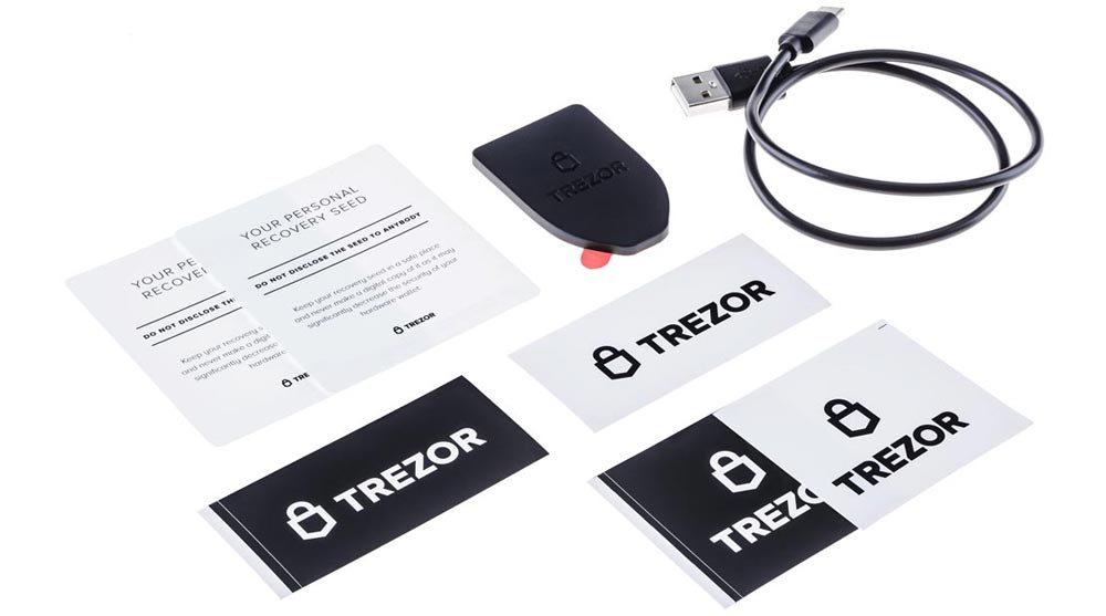 Hardware wallet Trezor model T