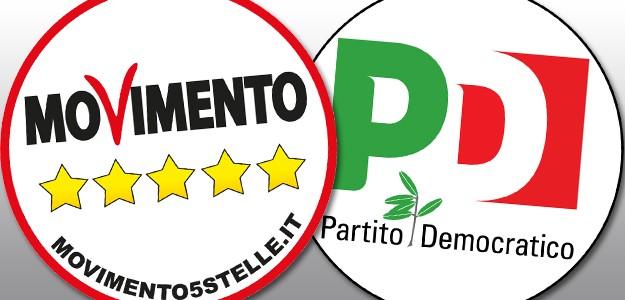 """Fra gli applausi nasce il Partito del """"No-Voto"""": M5S – PD"""