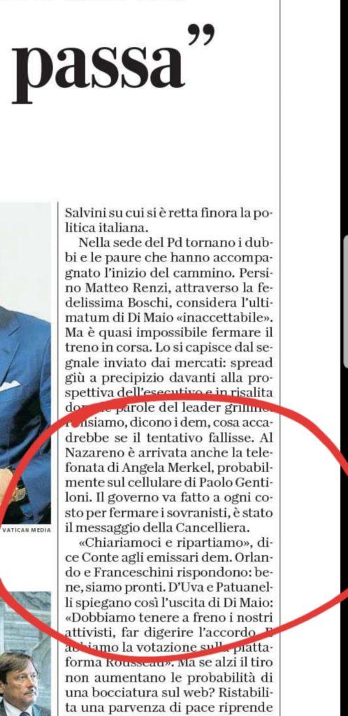 Giannini, Merlino, Repubblica: le èlite ammettono di volere il governo giallo-fucsia