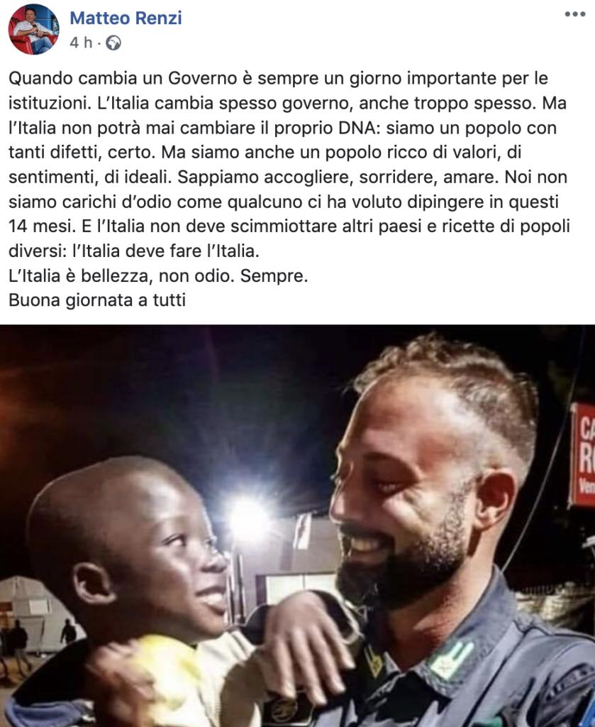 """""""Sappiamo accogliere"""": Renzi già rilancia l'invasione"""