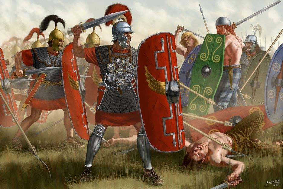 Gli Antesignani, le truppe leggere delle legioni romane mariane