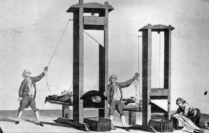 """La ghigliottina: storia della macchina della """"morte istantanea"""""""