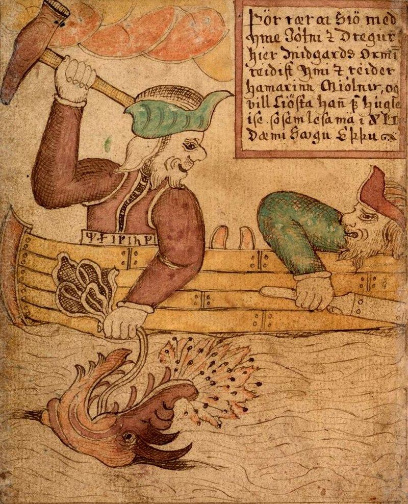 Thor il dio dei fulmini e Loki dio dell'inganno, figure mitologiche a confronto