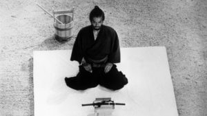 Harakiri suicidio samurai