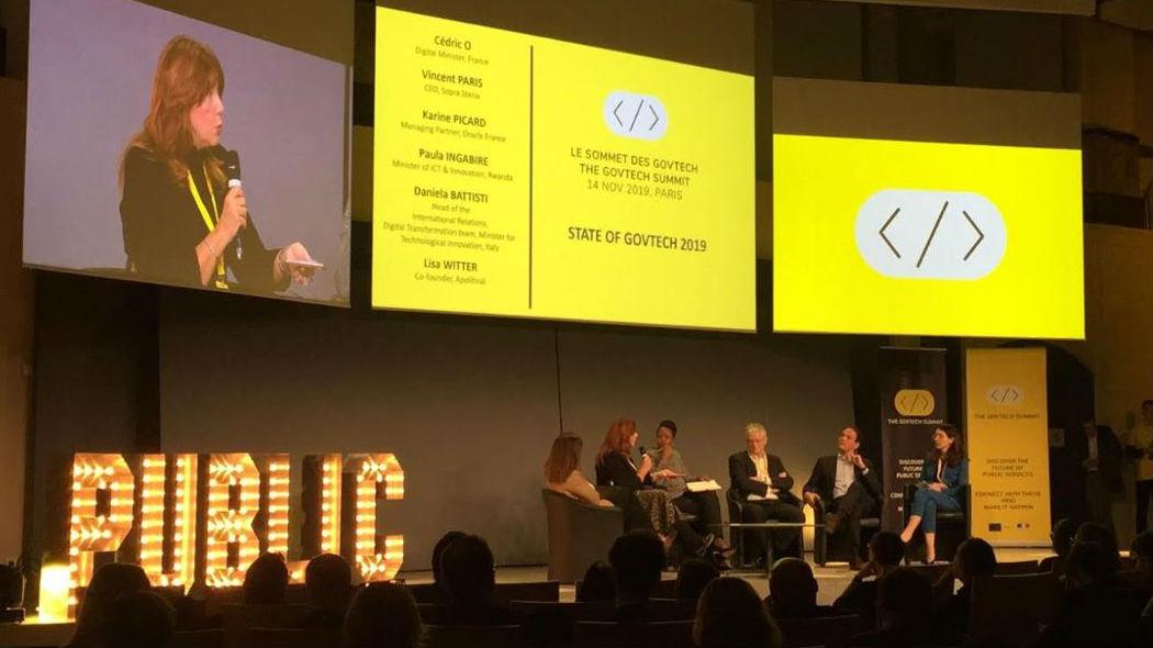 Al GovTech Summit di Parigi l'Italia partecipa alla trasformazione digitale in Europa