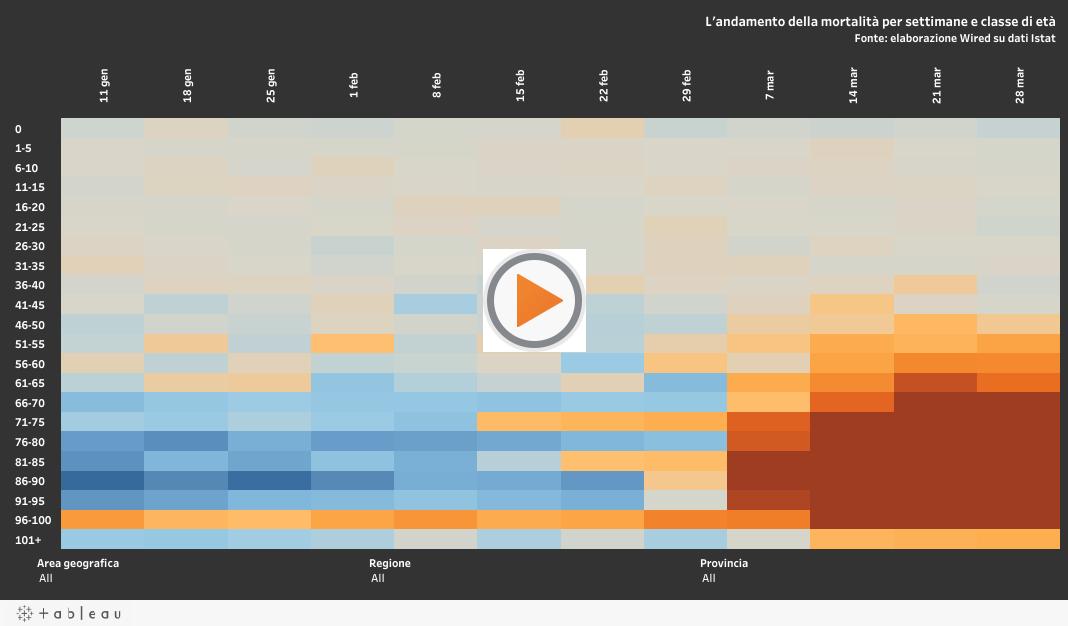 I grafici che mostrano il reale impatto dell'epidemia di nuovo coronavirus