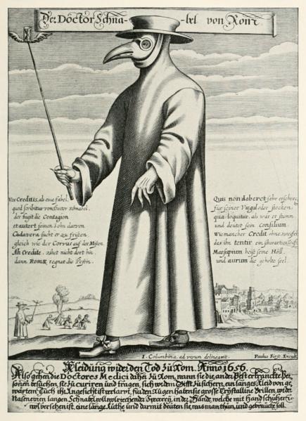 Le leggende metropolitane sulla peste