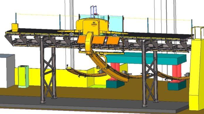 Un rendering dei robot del nuovo ponte di Genova (immagine Iit - Camozzi)