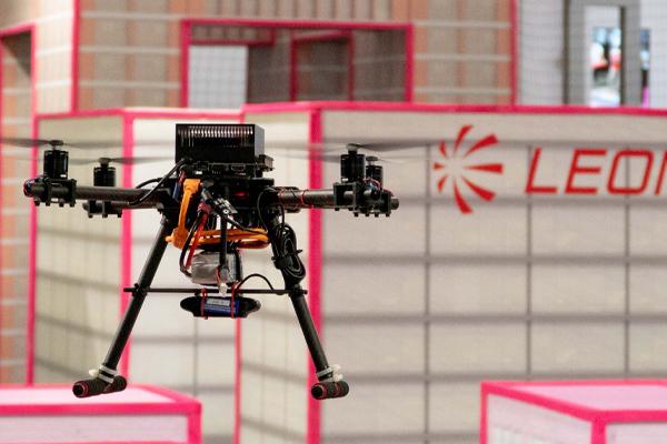 La prima competizione di Leonardo Drone Contest