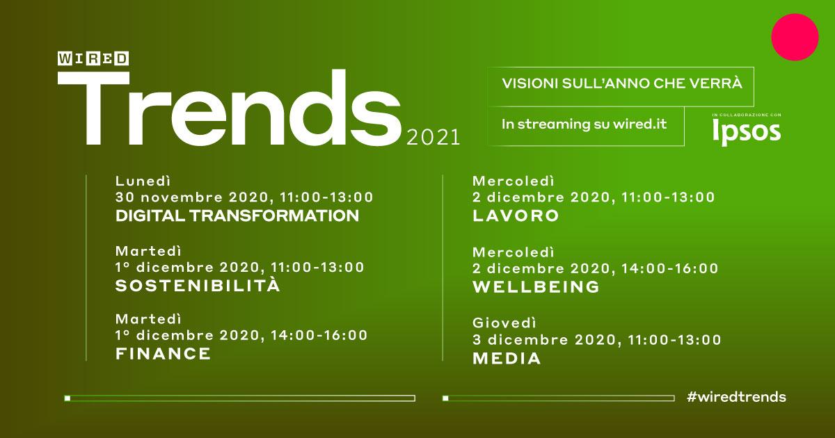 Wired Trends 2021: la trasformazione digitale accade ora, ma servono pianificazione, formazione e cultura