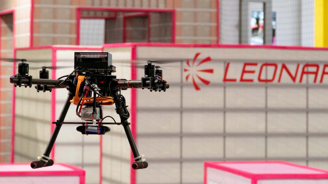 Leonardo Drone Contest 2021 - Campo di gara