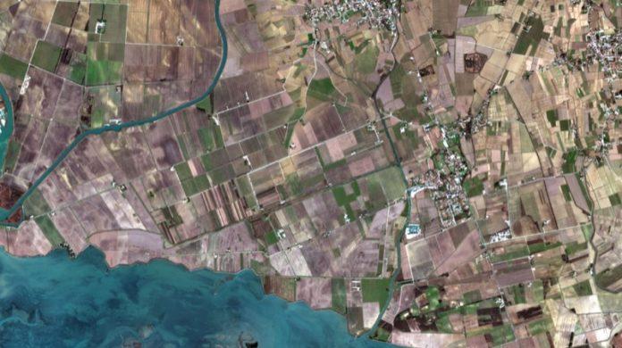 Immagine Satellitare vero colore. Foto Copernicus/Sentinel-2.