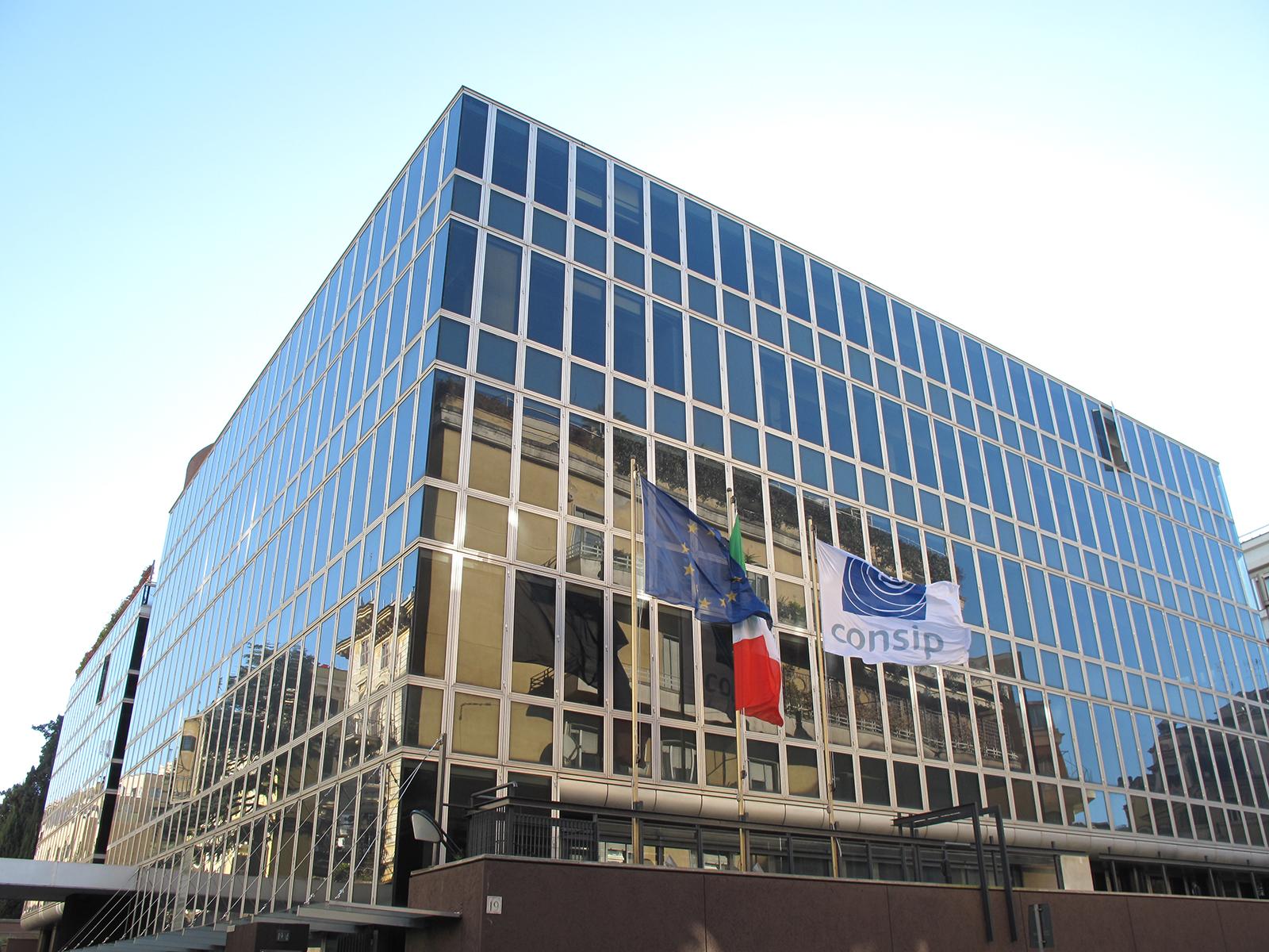 La sede di Consip